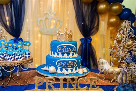 Prince Birthday Party Ideas   Photo 3 of 15   Catch My Party