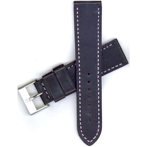 Swiss Army Hc8732 Blk For swiss army ambassador mechanical xl 23mm black leather