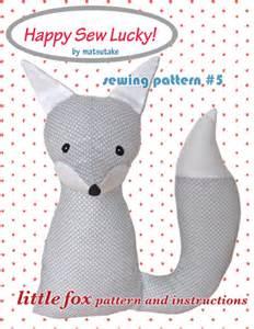 Free fox sewing pattern