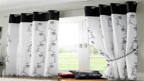 Black And White Kitchen Curtains by Black White Curtains Black And White Kitchen Curtains