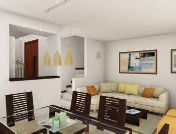 interiores de casas modernas peque 241 as