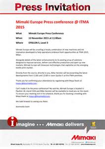 Conference Press Release Template by How To Write An Invitation Letter For Press Conference