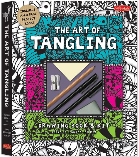 coloring book kits for adults the of tangling drawing book kit jo