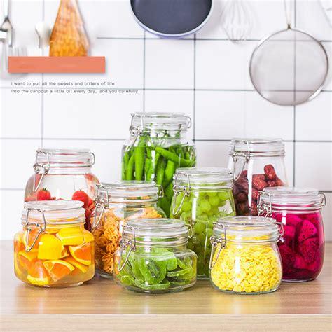 glass storage jar  food container jadroo