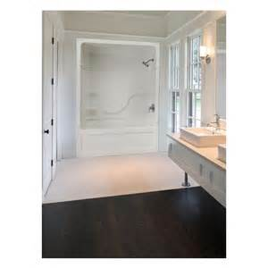 Mirolin Shower Door Mirolin 60 In W X 33 In L X 85 5 In H White Acrylic Shower Wall Surround Side And Back