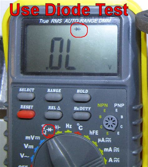 how to test led diode with multimeter how to leds in cluster page 32 chevy and gmc duramax diesel forum