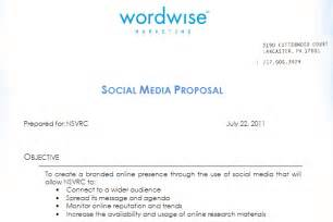 social media proposal best templates to win clients
