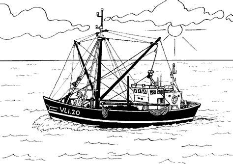dessin bateau de peche dessins de bateaux 224 colorier