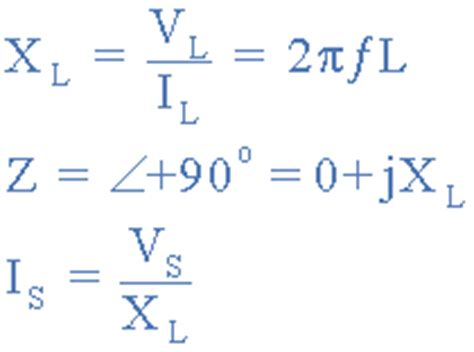 inductor circuit equation passive components in ac circuits and equations