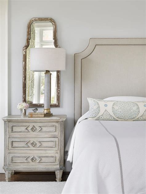 1000 ideas about mirror behind nightstand on pinterest gray headboard and gray nightstand traditional bedroom