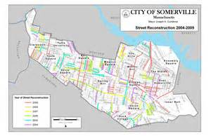 somerville map city of somerville map