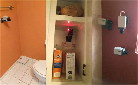 are there security cameras in bathrooms man finds fake surveillance cameras at goodwill hilarity