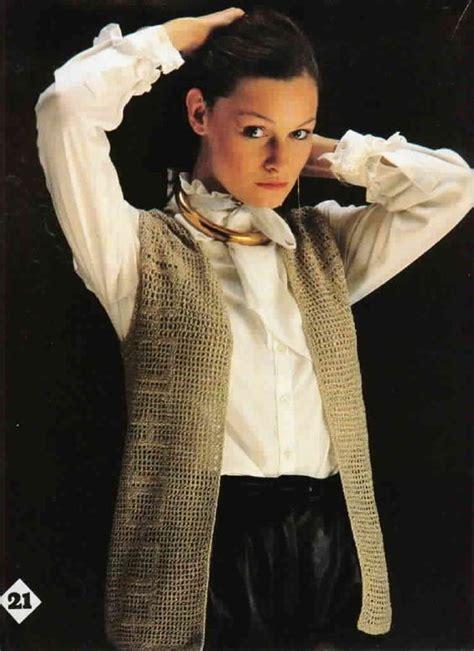 vintage vest pattern free vintage crochet vest pattern free crochet vest