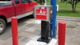 Tire Air At Gas Station Goodyear S Self Inflating Tire System Could Make Air Pumps