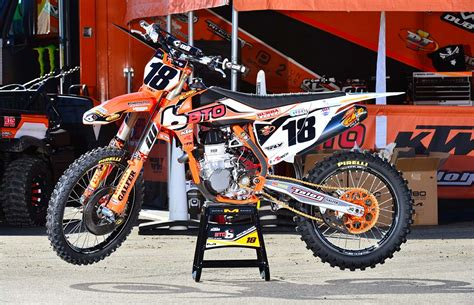 Ktm Supercross Team Team Bto Sports Ktm Team Transporter Hit With 200 000 Theft