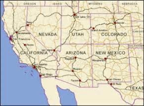 four corners usa map untitled document zarubezhom