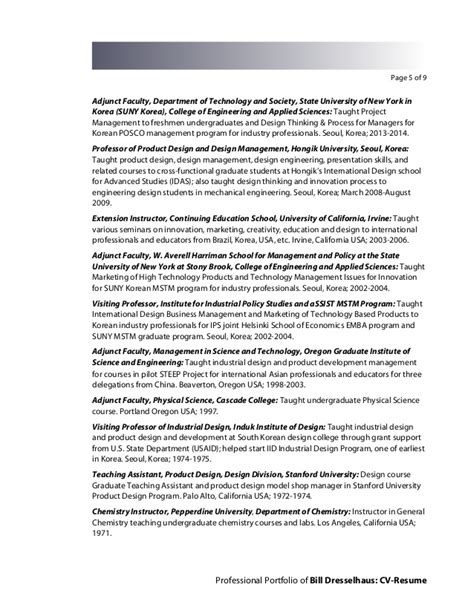 design thinking new york bill dresselhaus cv resume