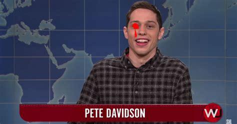 pete davidson pete crenshaw dan crenshaw stabs pete davidson in the eye or whatever