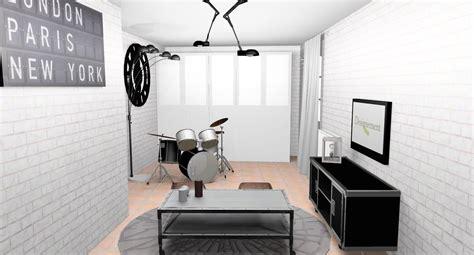 chambre industriel deco chambre ado industriel photos de conception de maison