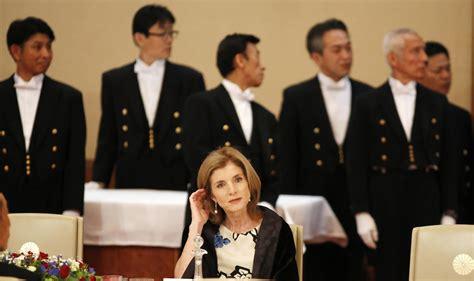 reports japan investigating threats against ambassador japan probes caroline kennedy death threats reports