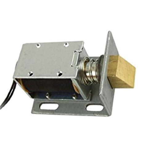 Electric Door Lock by Dc 12v Open Frame Type Solenoid For Electric Door Lock