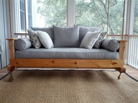 build your own daybed learn how to build your own hanging day bed swing your