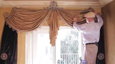 how to make a valance curtain video 48 tips from us swag curtains diy how to create