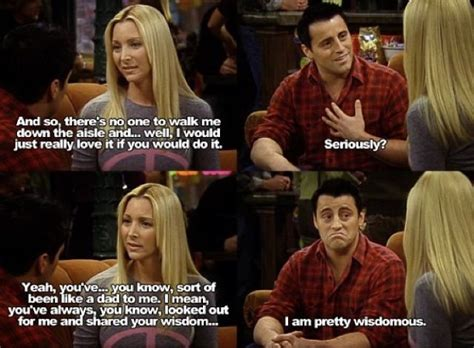 Sitcom Meme - joey and phoebe friends tv show funny quotes f r i e n d