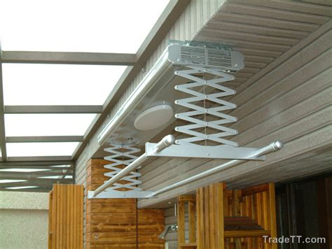 indoor ceiling remote clothes drying rack jpg 700 215 526