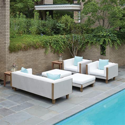 Lloyd Flanders Patio Furniture by Lloyd Flanders Outdoor Wicker Patio Set Lf