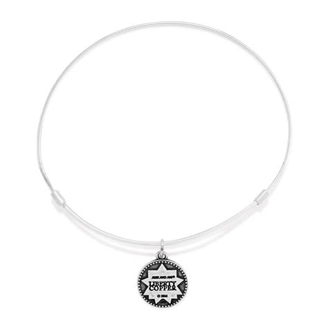 alex and ani carry light alex and ani small liberty copper carry light charm