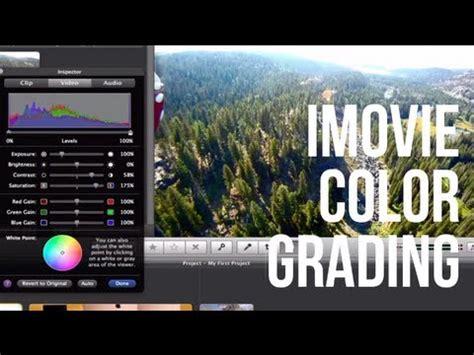 imovie tutorial advanced imovie 11 tutorial advanced color correction doovi