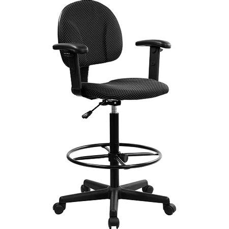 Drafting Stool Black by Ergonomic Multi Function Drafting Stool With Adjustable