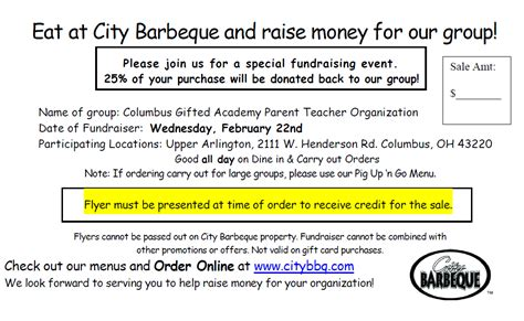 Citybbq Com Gift Card Balance - columbus gifted academy pto gift ftempo