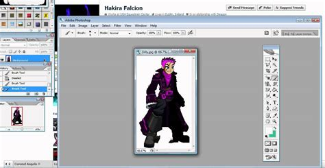 tutorial dasar adobe photoshop cs2 how to use magic wand on photoshop cs2 youtube
