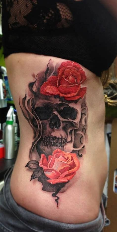 skull tattoos for women 51 skull tattoos for and inspirationseek