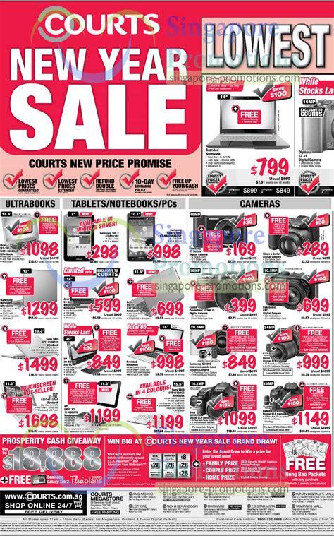 courts new year sale notebooks tablets desktop pcs digital cameras acer