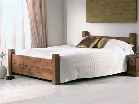 Solid Wood Bed Is Flexible For Any Form Of House Style Solid Wood Beds