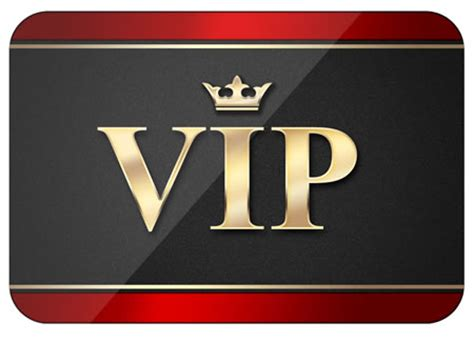 vip card template printable vip pass template