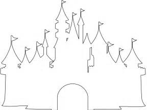 Disney World Castle Outline by Disney Castle Silhouette Free Vector Silhouettes