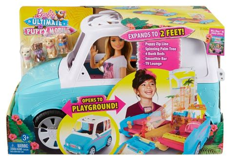 film barbie z pieskami barbie her sisters in a puppy chase ultimate puppy mobile