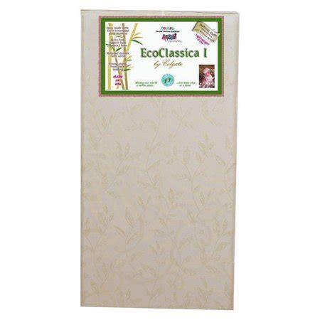 colgate classica foam crib mattress colgate eco classica i organic cotton foam crib mattress