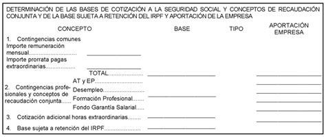 nuevo modelo de recibo individual justificativo del pago de salarios boe es documento boe a 2014 11637