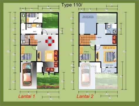 denah rumah minimalis modern 2 lantai dan simpel 1000 gambar model desain rumah minimalis anda
