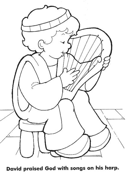 coloring pages about king david king david coloring page coloring home