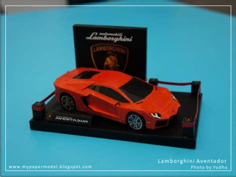 papercraft and papermodel lamborghini aventador lp700 4