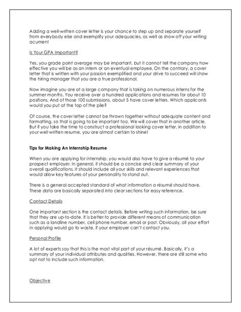 how to write an impressive cover letter 1535