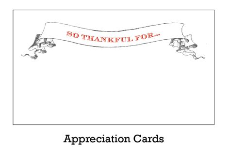 appreciation cards template free printable appreciation cards whisker graphics