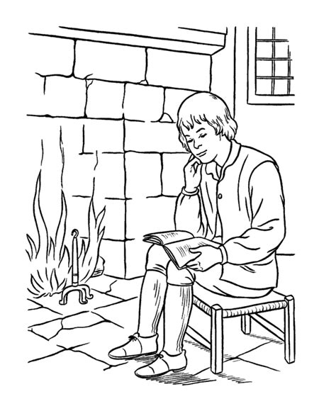 early coloring pages usa printables early american children coloring pages