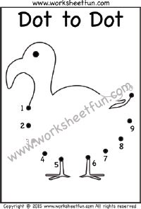 free printable dot to dot counting by 10 numbers 1 10 free printable worksheets worksheetfun